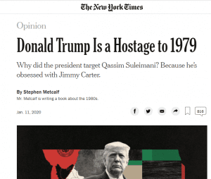 Donald Trump is hostage to 1979